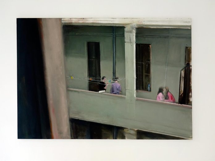 Florin Stefan, The Kiss, 2015 - La boîte rouge Iconoscope, Montpellier