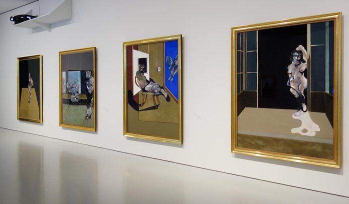 Cadre - Cage, Francis Bacon - Bruce Nauman - Face à face au Musée Fabre, Montpellier