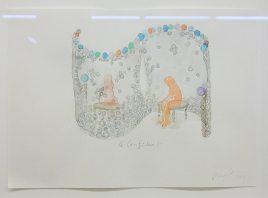 Jean-Michel Othoniel, Aquarelles et dessins - Le confident