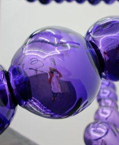 Jean-Michel Othoniel, Purple Tornado, 2016 détail
