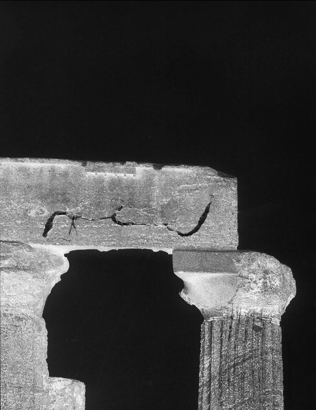 L'arche blanche, temple d'Héra, 2017 © Dune Varela