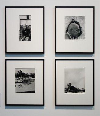 Alexander Liberman, Portraits de Dubuffet à Vence, septembre 1956 - L'outil photographique Rencontres Arles 2017