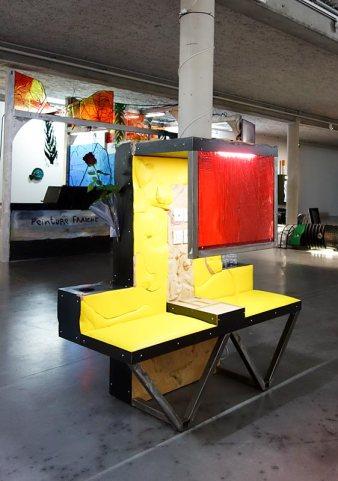Neil Beloufa, Développement durable au MRAC - Sérignan - Vue de l'exposition.