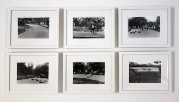 Babette Mangolte, Group Accumulation in Central Park, Trisha Brown, mai 1973- A different way to move - Minimalismes