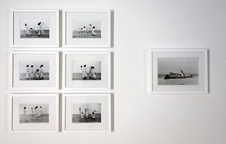 Babette Mangolte, Line-Up, Trisha Brown, 1976 et Accumulation, Trisha Brown, Sonnabend Gallery, NYC, 1973 - A different way to move - Minimalismes
