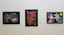 Passion de l'art, galerie Jeanne Bucher Jaeger - Jean Dubuffet, Expansion de l'être - Idéoplasme III - Les déambulants F110