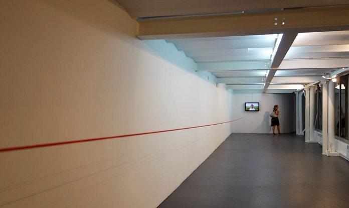 Bertrand Gadenne, La ligne d'horizon - Gannier Modenne à Art-Cade Galerie Bains Douches, 2017