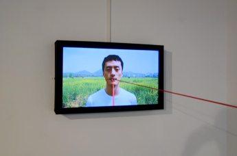 Bertrand Gadenne, La ligne d'horizon (détail 2) - Gannier Modenne à Art-Cade Galerie Bains Douches, 2017