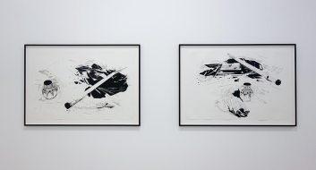 Chourouk Hriech - Galerie Anne-Sarah Bénichou (Paris) - Drawing room 017 - La Panacée Montpellier