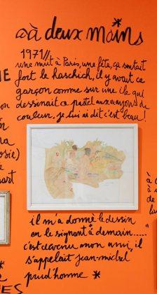 Dessin-Destin, Collection Jean-Charles de Castelbajac, Jean-Michel Prudhomme - Drawing room 017 - La Panacée Montpellier