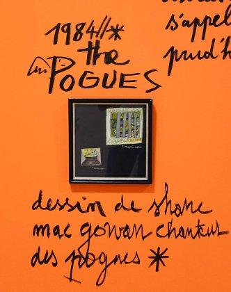 Dessin-Destin, Collection Jean-Charles de Castelbajac, Shane MacGowan - Drawing room 017 - La Panacée Montpellier