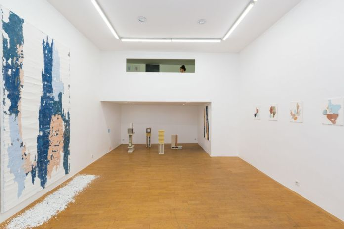 Manoela Medeiros, Falling Walls à la Double V Gallery, Marseille - Photo Double V Gallery