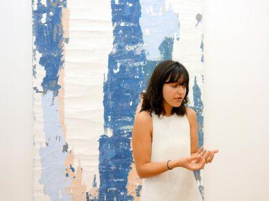 Manoela Medeiros à la Double V Gallery