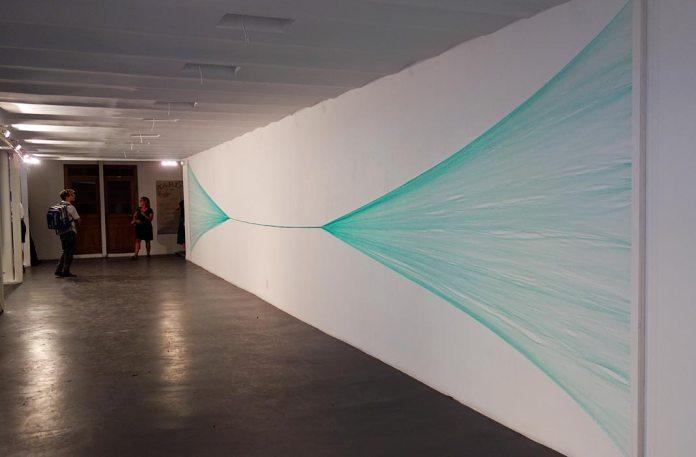 Richard Monnier, Corde Polypropylène - Gannier Modenne à Art-Cade Galerie Bains Douches, 2017