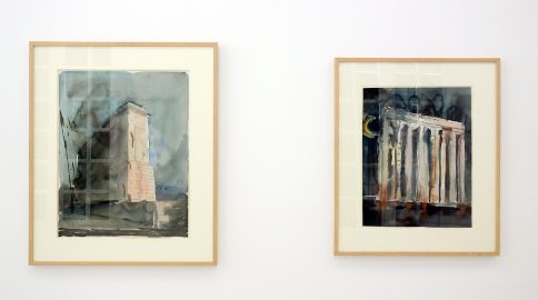 Alselm Kiefer, Monument for unknow Artist, 1982 et Sol Invictus Hela Gabal, 1974