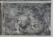 Anselm Kiefer, La vie secrète des plantes (2001-2002) - Branchage, gesso, fil de fer, plomb, toile