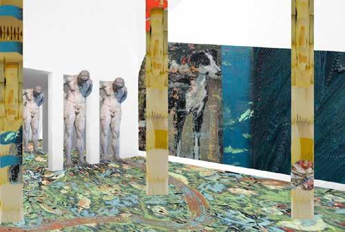 Ken Sortais et Julien des Monstiers, visuel de recherche, projet Antigone