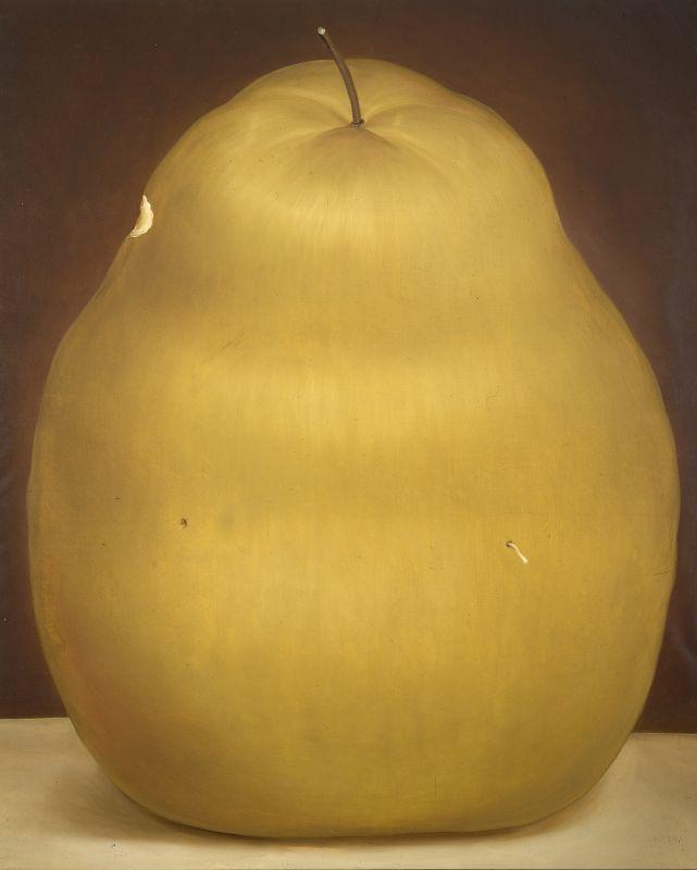 Fernando Botero, Poire, 1976 Huile sur toile 241 x 196 cm Collection privée © Fernando Botero