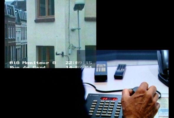 Harun Farocki, Counter-Music/ Contre-musique. 2004 Installation vidéo Durée : 25 minutes 1 seconde Le Fresnoy, Tourcoing ; Lille 2004 - Capitale Européenne de la Culture ; Délégation aux Arts Plastiques, Paris ; Fonds Image / Mouvement, Centre National de la Cinématographie, Paris ; Fonds DICREAM, Centre National du Cinéma et de l'Image Animée, Paris ; Harun Farocki GbR