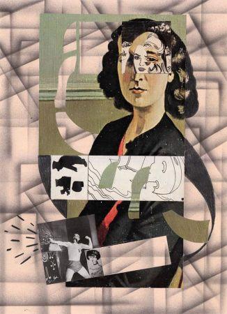 Hippolyte Hentgen de la serie «1,2,3», 2017 collage sur papier 43 x 32,5 cm. © Hippolyte Hentgen