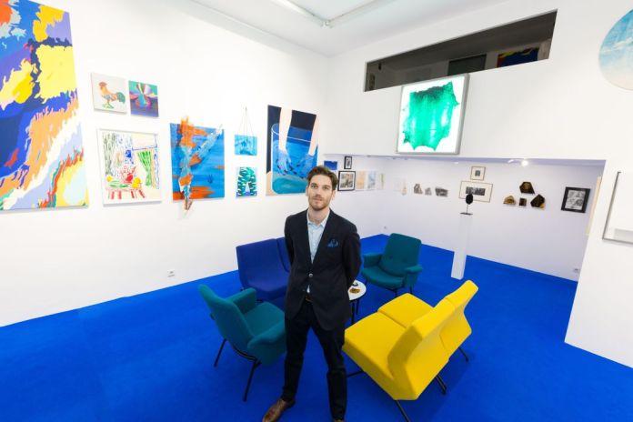 Nicolas Veidig-Favarel. Exposition La Saga à la Double V Gallery - Marseille