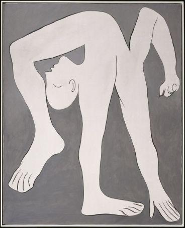 Pablo Picasso, L'Acrobate, Paris, 18 janvier 1930 © Succession Picasso 2017 Huile sur toile 162 x 130 cm Musée national Picasso-Paris Dation Pablo Picasso, 1979 MP120 © Succession Picasso 2017 © Photo : RMN-Grand Palais (Musée national Picasso-Paris) / René-Gabriel Ojéda