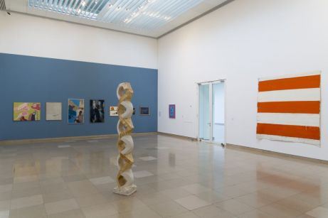 Supports-Surfaces Les origines 1966-1970 - Carré d'Art, Nîmes - Salle 1 © C. Eymenier