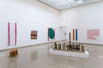 Supports-Surfaces Les origines 1966-1970 - Carré d'Art, Nîmes - Salle 2 © C. Eymenier