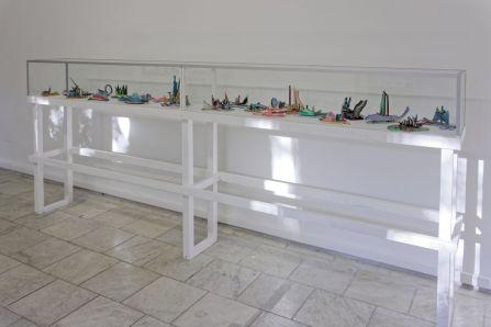 Vue d'exposition art-cade x 25ans. Œuvres de Jean-Louis Vila. © Michel Disnet