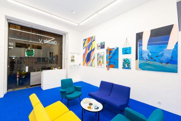 Vue d'exposition La Saga à la Double V Gallery Marseille
