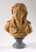 Augustin Pajou, Buste de Paulin des Hours Farel, 1794, terre cuite, Montpellier, musée Fabre