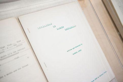 Barabara Rubin, Script de «Christmas on Earth Continued». Photo Boo-Hooray Gallery