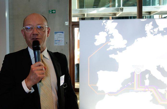 Fabrice Coquio, Interxion, Connexités Ill, 2017 - Connectivités au Mucem - La Méditerranée aujourd'hui