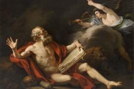 François-André Vincent, Saint Jérôme dans le désert écoutant la trompette du Jugement dernier, 1776-1777, huile sur toile, Montpellier, musée Fabre