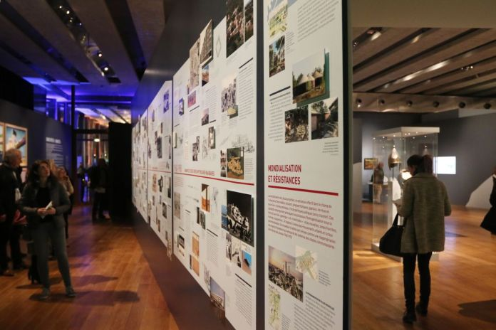 Scénographie Mucem Exposition Connectivites Nov 2017 (c)Agnes Mellon Mucem