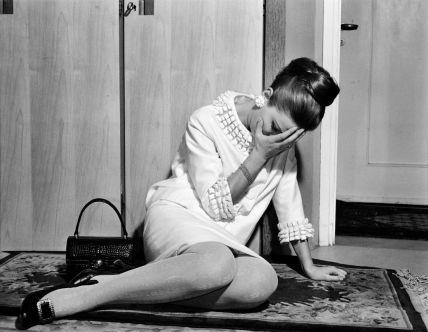 Photographie réalisée pour le roman-photo Gioventù delusa [Jeunesse déçue], publié dans Bolero film n° 1043, 1967. Collection Fondazione Arnoldo e Alberto Mondadori, Milan © Arnoldo Mondadori editore/DR