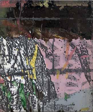 André-Pierre Arnal, Sans titre, 1989 Techniques mixtes sur toile, 46 cm x 38 cm