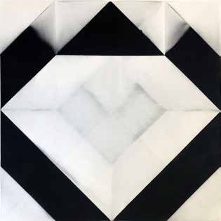 André-Pierre Arnal, Techniques mixtes sur papier, 1971 50 cm x 50 cm