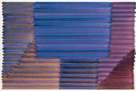 Jean-Michel Meurice, Boukhara 01, 1981. acrylique sur carton, 80 x 120 cm, don de l'artiste, 2015, inv. 2015.16.2 © Musée Fabre de Montpellier Méditerranée Métropole - photographie Frédéric Jaulmes