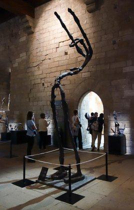 Freddy Tsimba, Prière d'une femme abandonnée, 2005. Les Eclaireurs - Salle du Consistoire, Palais des Papes