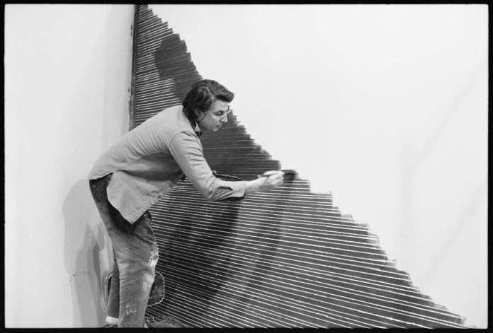 Jean-Michel Meurice dans son atelier
