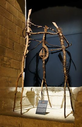 Moustapha Dimé, Danse contemporaine, 1995. Les Eclaireurs - Salle du Consistoire, Palais des Papes