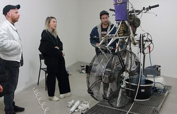 Thomas Teurlai, work in progress - Crash Test à La Panacée, Montpellier