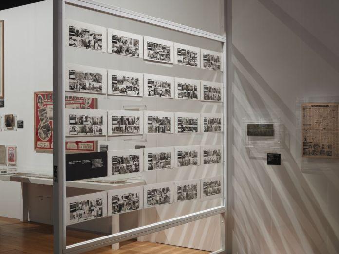 Vue de l'exposition Roman-photo au Mucem, 2017. Photo © Francois Deladerriere