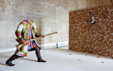 Yinka Shonibare MBE, Egg Fight, 2009. Les Eclaireurs - Grand Tinel, Palais des Papes