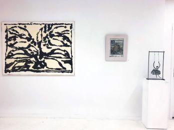 «Supports-surfaces, et après...» à la galerie Clémence Boisanté - Jean-Pierre Pincemin et Louis Cane