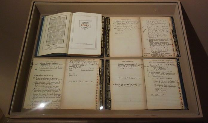 Aurès, 1935. Photographies de Thérèse Rivière et Germaine Tillion – Pavillon Populaire, Montpellier - Agenda de 1936 de Thérèse Rivière