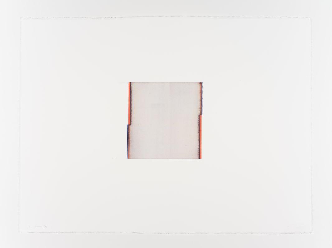 Callum Innes, Opera Rose / Delft Blue, 2018