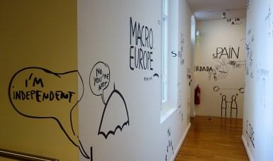 Dan Perjovschi - La Vie simple – Simplement la vie à la Fondation Vincent van Gogh Arles
