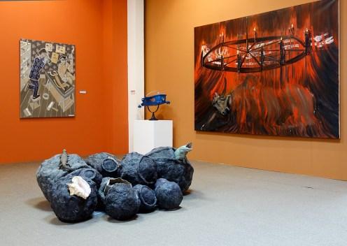 Jean-Luc Parant, Eboulement marin, 2012 - Musée Paul Valéry - Sète